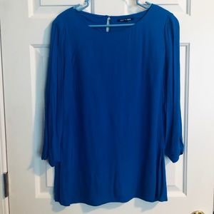 Gianni Bini flowing tunic blouse